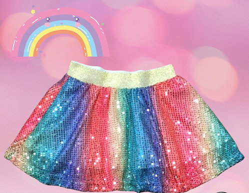 Sparkling Rainbow Skirt
