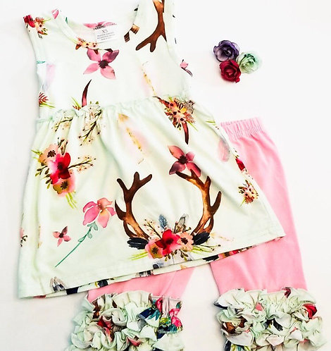 Deerly Sweet Capri Outfit