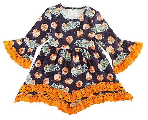 Vintage Pumpkin Haul Dress
