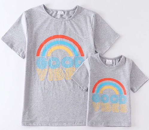 Mom & Me Good Vibes T Shirt