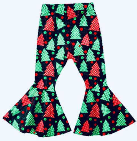 Holiday Tree Bell Leggings