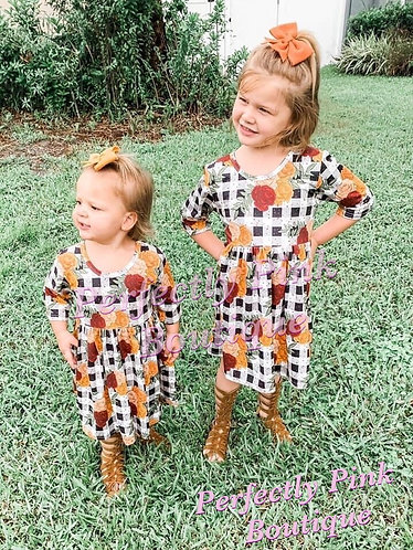 Perfectly Plaid Fall Beauty Dress Preorder Ends 5/30