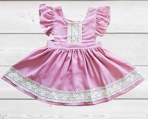 Petite In Pink Dress