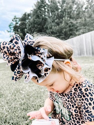 Flower Puff  Headband