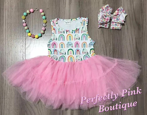Over The Rainbow Dress  Set ( Accessories Included)