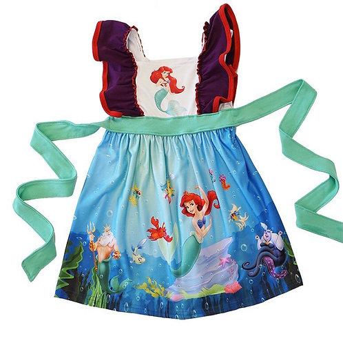 Under The Sea Ariel Dress