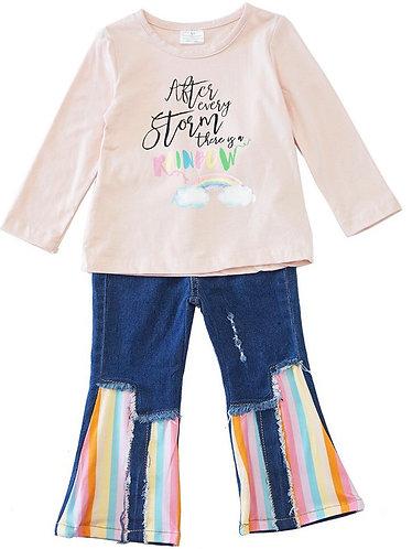 Rainbow Days Jean Set