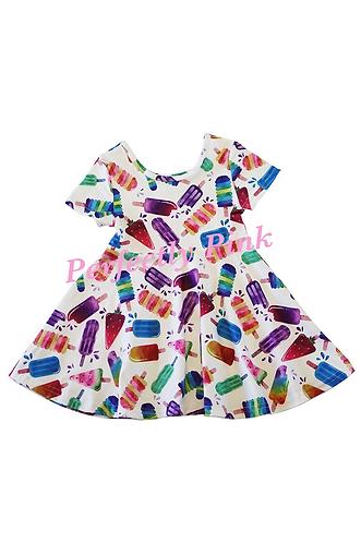 Rainbow Popsicle Dress
