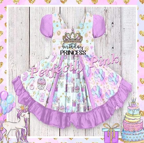 Birthday Princess Custom Dress Preorder Ends 11/15