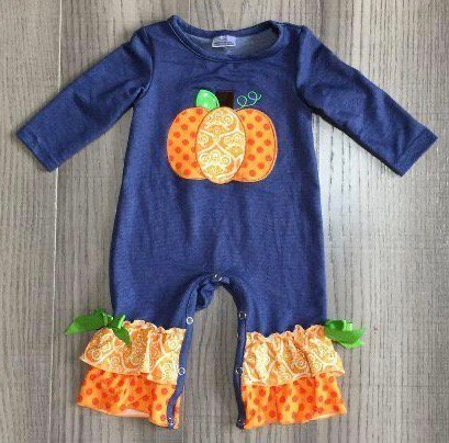 Pumpkin Patch Romper