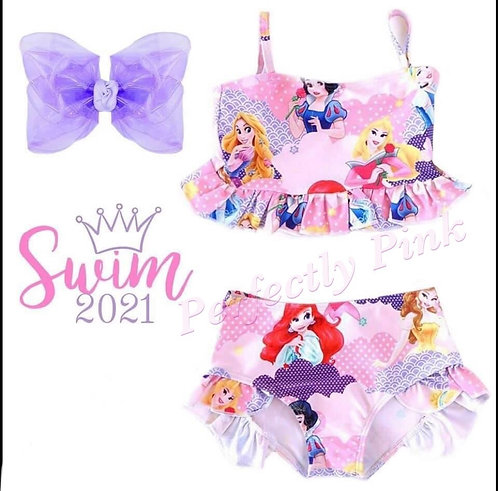 Princess Waves Swimsuit (In stock)