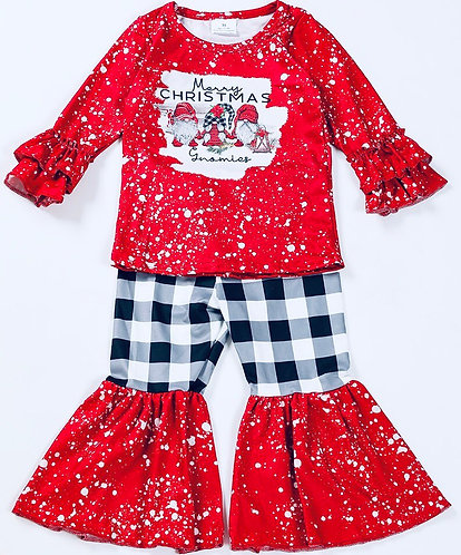 Gnomies Merry Christmas Outfit
