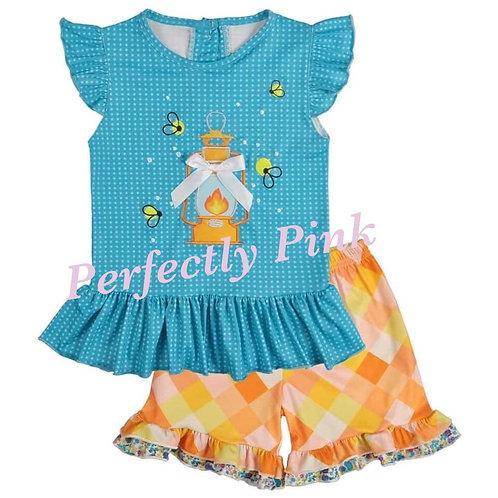 Twinkling Firefly's Shorts set