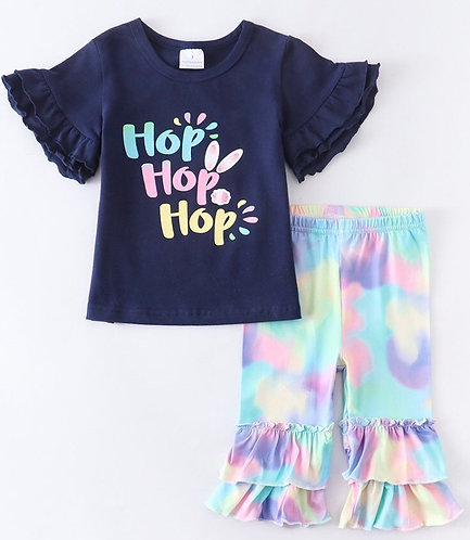 Hop,Hop,Hop Capri Outfit (In stock)