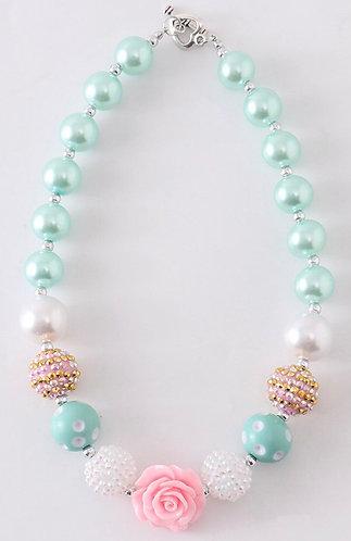 Mint Sparkle Necklace