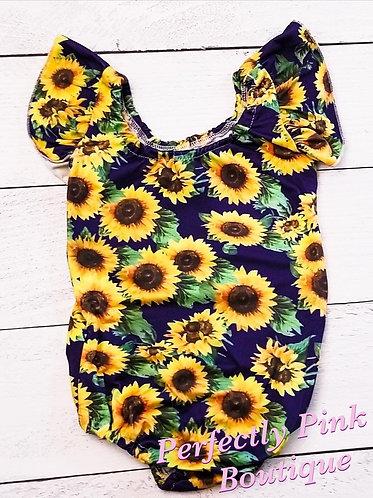 Sunflowers Leotard