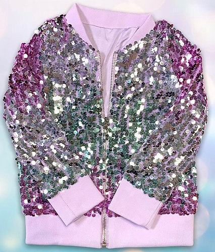 Sparkle Party Sequin Jacket