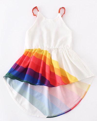 Rainbow Dreamin  High/Low Sundress