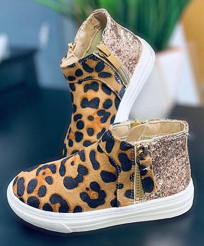 Leopard Sparkle Shoes