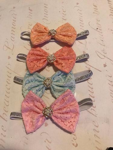 Lace & Jewels Headband