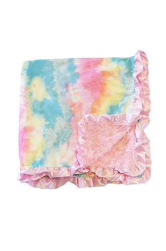 Tie Dye Minky Blanket
