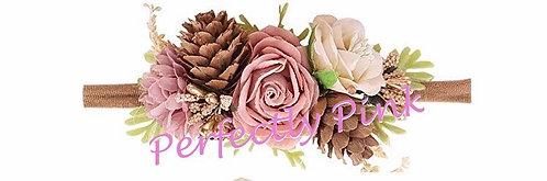 Woodland Fawn Floral Headband