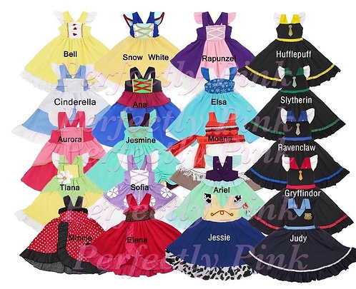 Playground Princess Doll Size Dress Girl size in separate listing) Ends 1/22