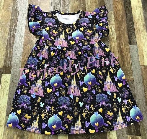 Magic Kingdom 50th Anniversary Girls Dress Preorder Ends 6/25