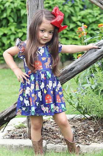 Little Miss Farm Girl Dress
