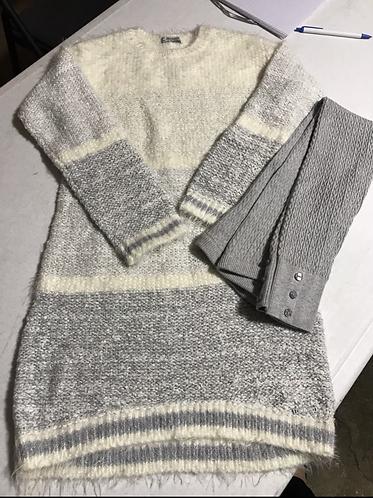 Mayoral brand Silver Sweater/Legging Set