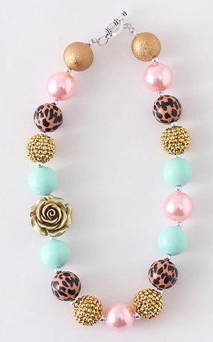 Leopard Sparkle Necklace