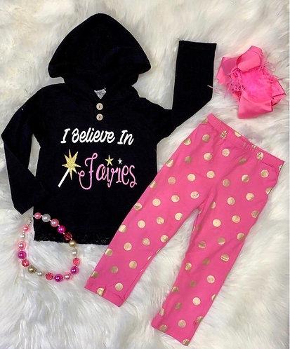 I Believe In Fairies Hoodie Outfit
