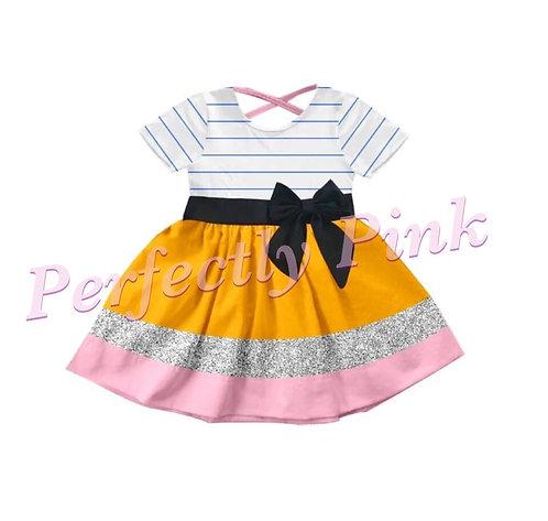 School Days Pencil ✏️ Twirl Dress (Custom Name)Preorder Ends 7/5