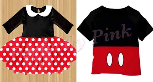 Mickey & Minnie Dress or Shirt Preorder Ends 12/14