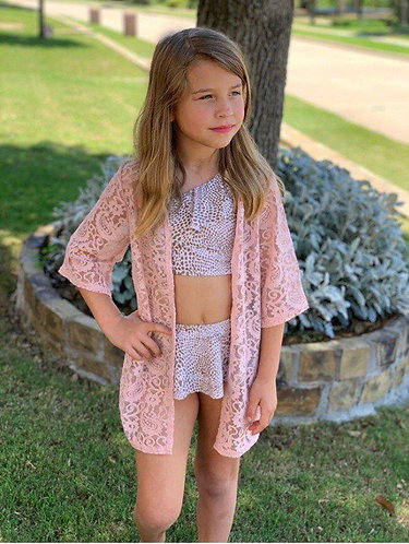 Lace Cardigan/Beach Cover Up
