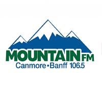 106.5 Mountain FM logo