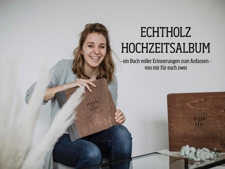 HOCHZEITSALBUM - DENN BILDER SIND ZUM ANFASSEN DA!