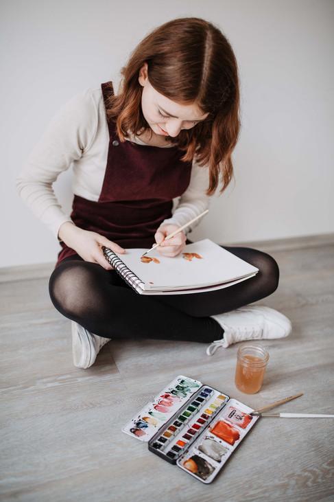 Content Shooting Bilder Selbstständig Instagram Facebook posten Inspo entrepreneur kreatives Business Gewerbe