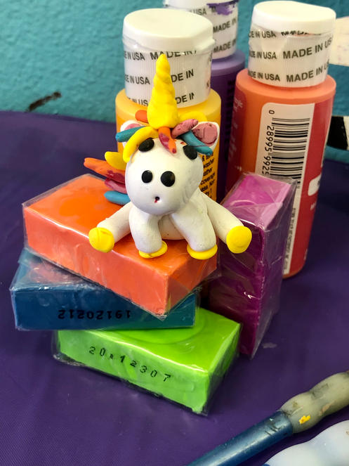 Sculpey Unicorn