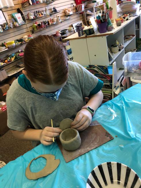 Clay Pinch Pots