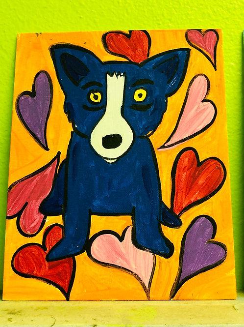 Blue Dog Art Kit