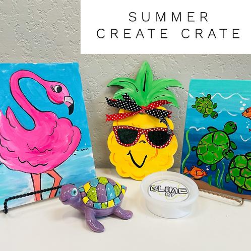 Summer Camp Create Crate