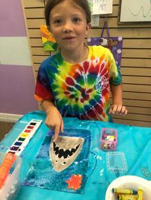Shark Watercolor