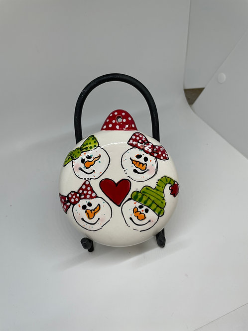 Snowman Family Ornament