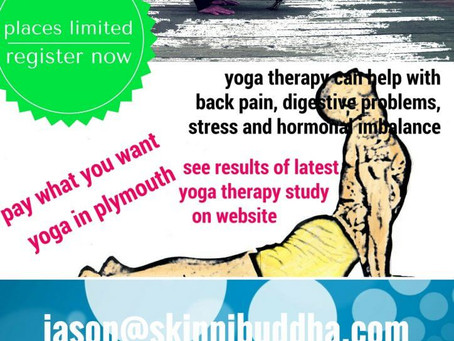 NEW ROCKET YOGA COURSE/CLASSES AND YOGA THERAPY STARTING MAY 2017 IN PLYMOUTH
