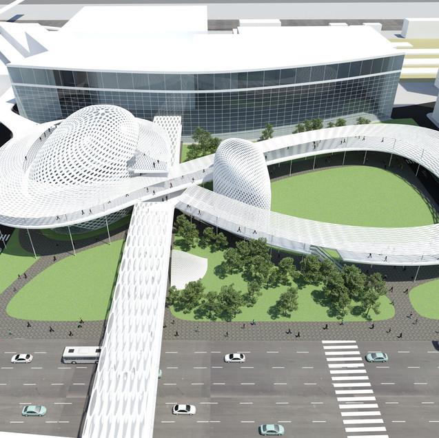 プサン駅前複合施設