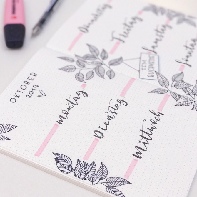 Bullet Journaling Workshops mit journalspiration <3
