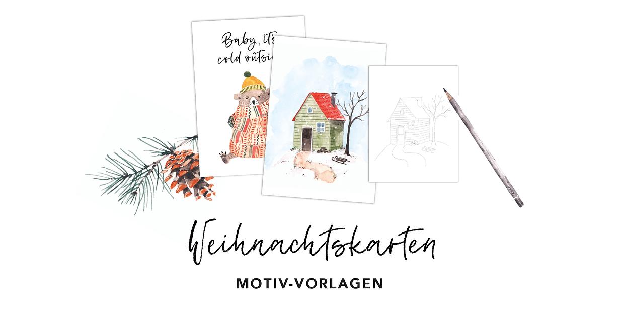 Workshop Header_Weihnachtskarten_Vorlage