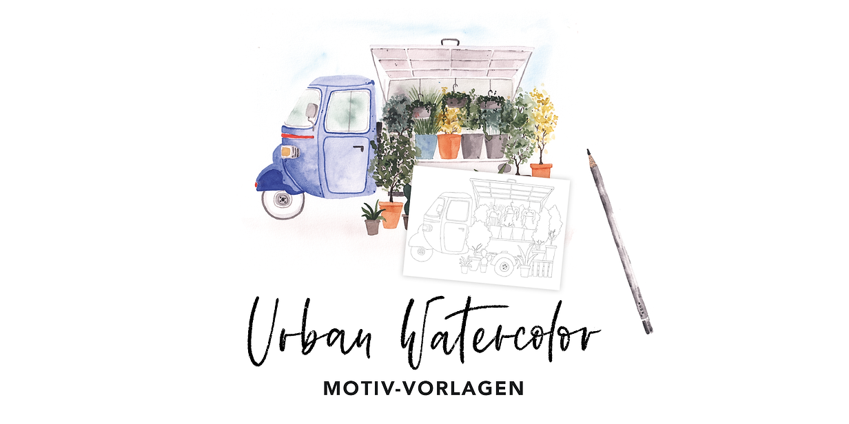 Workshop Header_Urban Watercolor__Vorlag