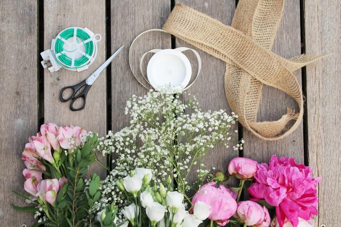 DIY Brautstrauß und Ansteckblumen - Yasmin hat sich getraut!